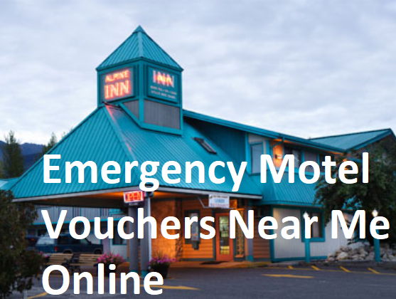 Emergency Motel Vouchers Near Me Online