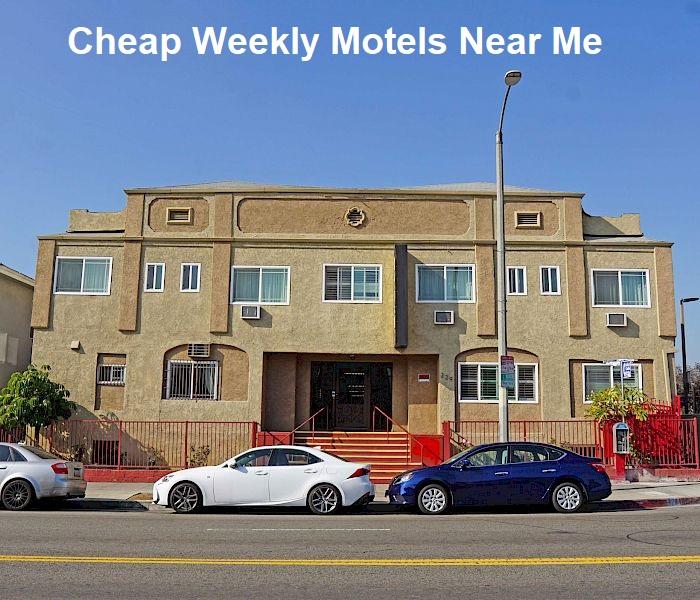 Cheap Weekly Motels Near Me